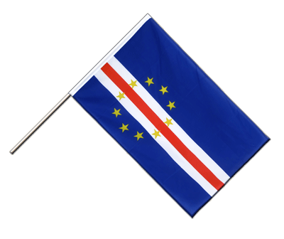 Hand Waving Flag ECO Cape Verde - 2x3 ft
