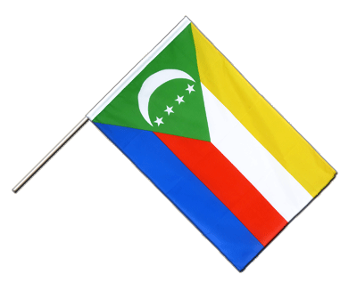 Hand Waving Flag ECO Comoros - 2x3 ft