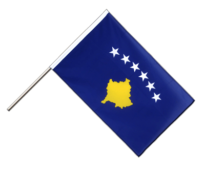 Hand Waving Flag ECO Kosovo - 2x3 ft