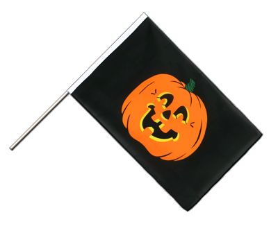 Hand Waving Flag ECO Pumpkin - 2x3 ft