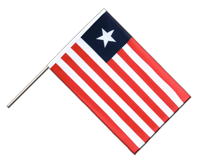 Hand Waving Flag ECO Liberia - 2x3 ft