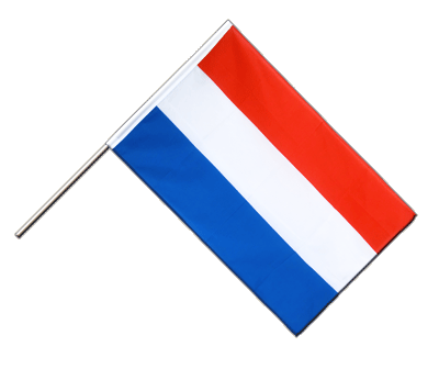 Hand Waving Flag ECO Luxembourg - 2x3 ft