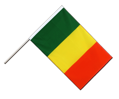 Hand Waving Flag ECO Mali - 2x3 ft