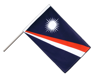 Marshall Islands Hand Waver Flag ECO - 2x3 ft