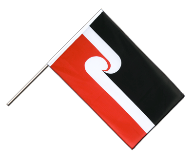 Hand Waving Flag ECO New Zealand Maori - 2x3 ft