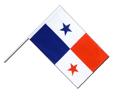 Hand Waving Flag ECO Panama - 2x3 ft
