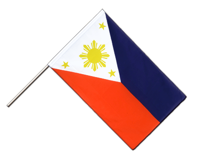 Hand Waving Flag ECO Philippines - 2x3 ft