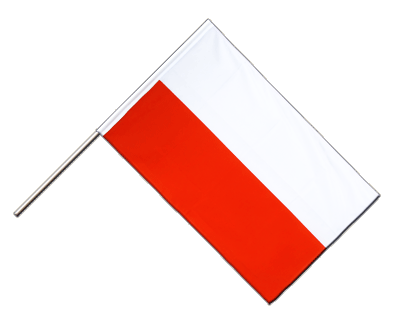 Poland Hand Waver Flag ECO - 2x3 ft