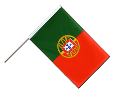 Hand Waving Flag ECO Portugal - 2x3 ft