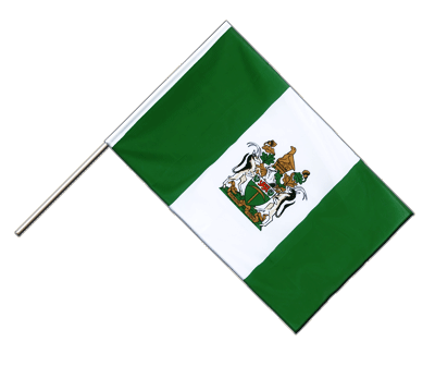 Hand Waving Flag ECO Rhodesia - 2x3 ft