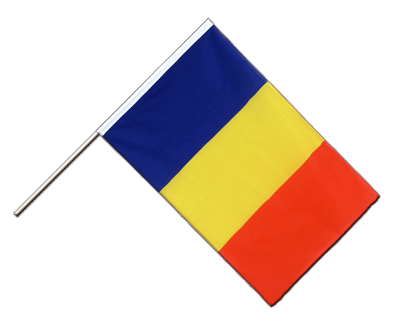 Hand Waving Flag ECO Rumania - 2x3 ft