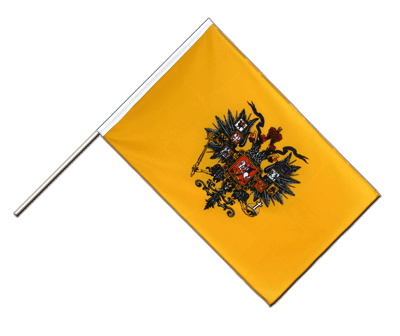 Hand Waving Flag ECO Russia Tsar Nicholas - 2x3 ft