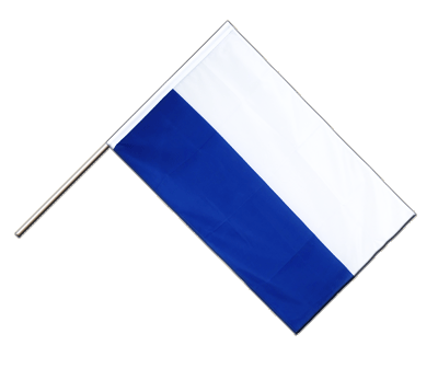 Hand Waving Flag ECO San Marino without crest - 2x3 ft