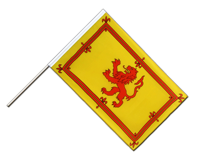 Scotland royal Hand Waver Flag ECO - 2x3 ft