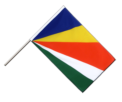 Hand Waving Flag ECO Seychelles - 2x3 ft