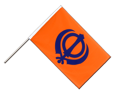 Sikhism Hand Waver Flag ECO - 2x3 ft