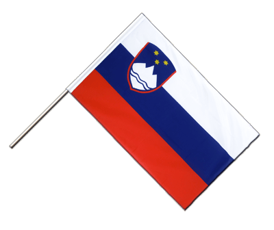 Slovenia Hand Waver Flag ECO - 2x3 ft