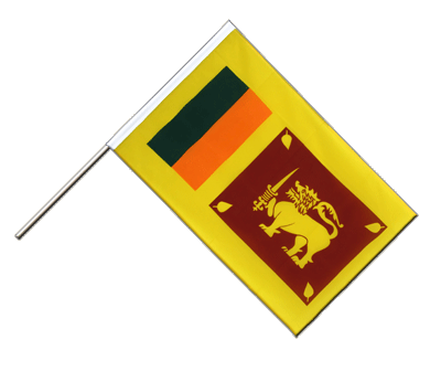 Hand Waving Flag ECO Sri Lanka - 2x3 ft