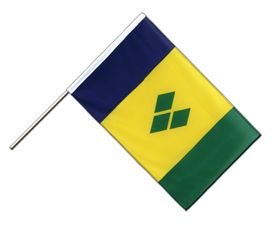 Hand Waving Flag ECO Saint Vincent and the Grenadines - 2x3 ft