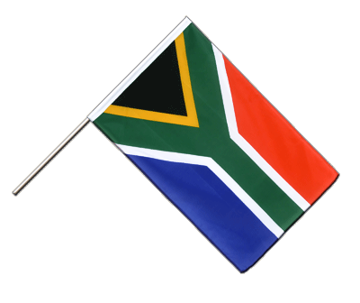 Hand Waving Flag ECO South Africa - 2x3 ft