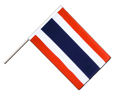 Hand Waving Flag ECO Thailand - 2x3 ft