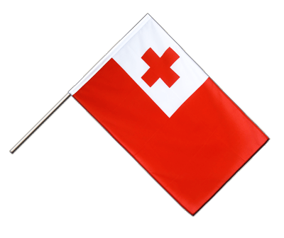 Tonga Hand Waver Flag ECO - 2x3 ft