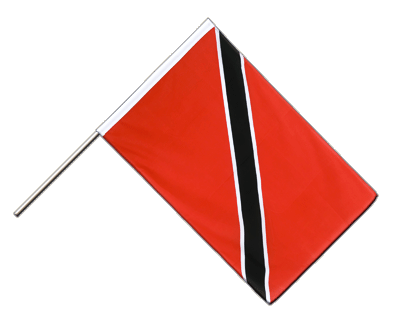 Hand Waving Flag ECO Trinidad and Tobago - 2x3 ft