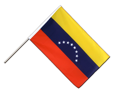 Hand Waving Flag ECO Venezuela 8 stars - 2x3 ft