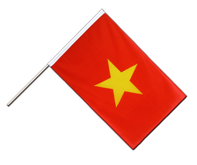 Hand Waving Flag ECO Vietnam - 2x3 ft