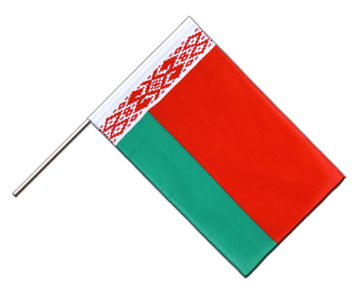 Hand Waving Flag ECO Belarus - 2x3 ft