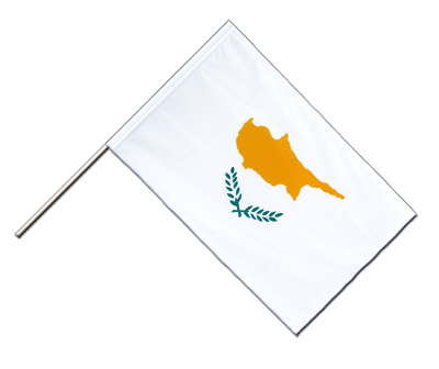 Hand Waving Flag ECO Cyprus - 2x3 ft