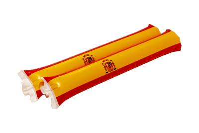 Spain with crest - Drumsticks 2 ft