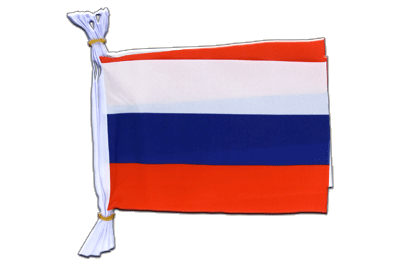 "Russia Flag Bunting 6x9"", 3 m"