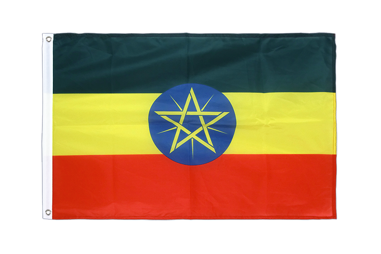 Grommet Flag PRO Ethiopia with star - 2x3 ft
