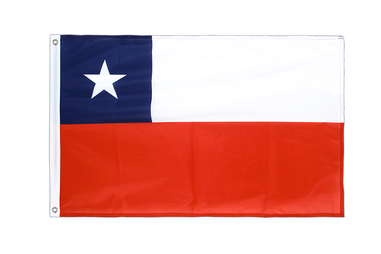 Grommet Flag PRO Chile - 2x3 ft