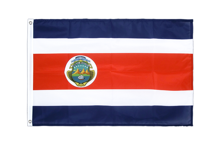 Grommet Flag PRO Costa Rica - 2x3 ft