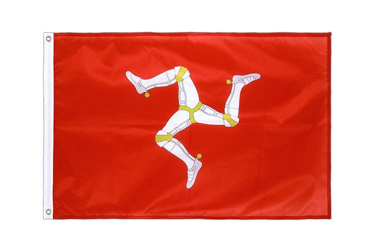 Isle of man Grommet Flag PRO - 2x3 ft