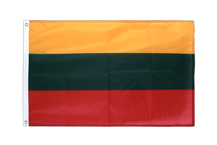 Lithuania Grommet Flag PRO - 2x3 ft