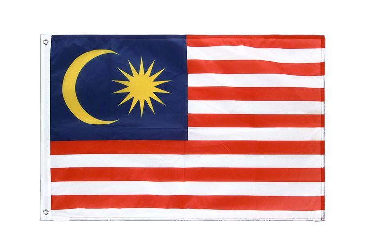 Grommet Flag PRO Malaysia - 2x3 ft