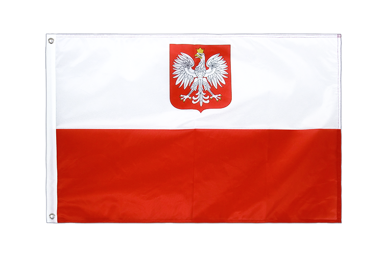 Grommet Flag PRO Poland with eagle - 2x3 ft
