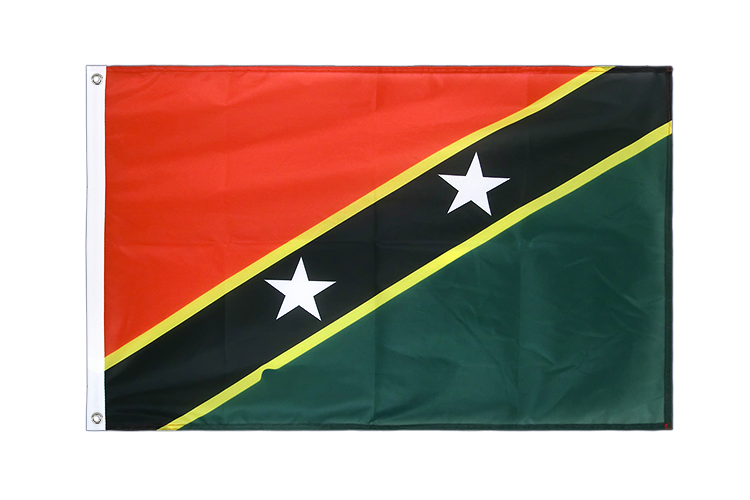 Grommet Flag PRO Saint Kitts and Nevis - 2x3 ft