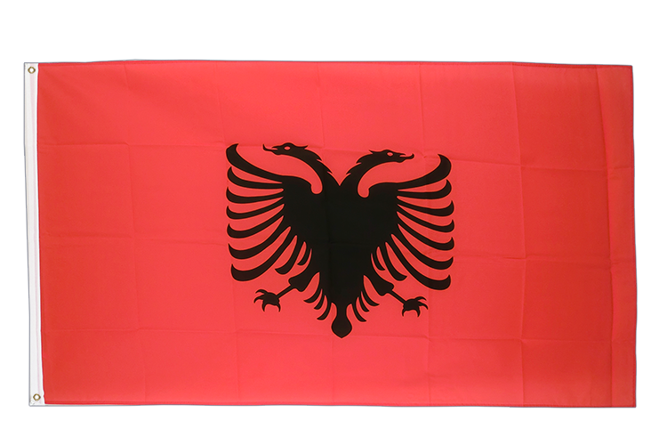 Large Flag Albania - 5x8 ft (big and giant)