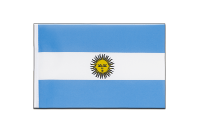 Little Flag Argentina - 6x9""