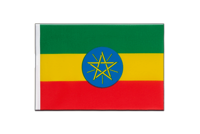 Little Flag Ethiopia with star - 6x9""