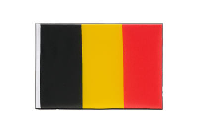 Little Flag Belgium - 6x9""