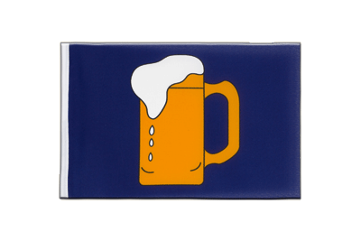 Little Beer Flag 6x9""