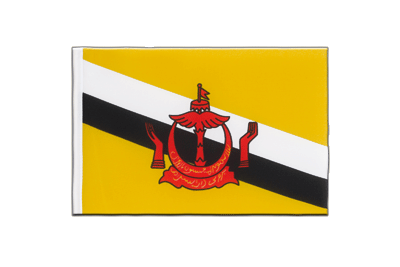 Little Flag Brunei - 6x9""