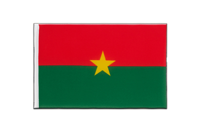 Little Flag Burkina Faso - 6x9""