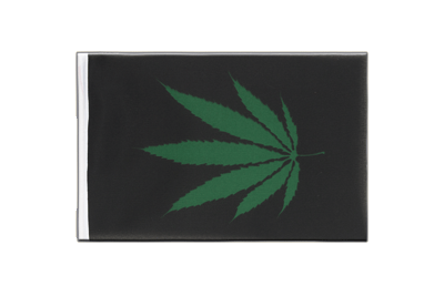 Little Cannabis Reggae Flag 6x9""