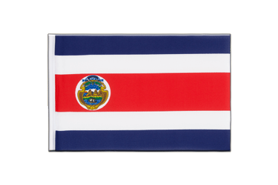 Little Flag Costa Rica - 6x9""